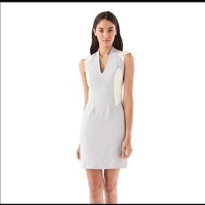 NEW-Helmut Lang Sleeveless Leather Dress- 8